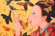 日本漫画,日本,浮世绘,艺术家,风俗画
