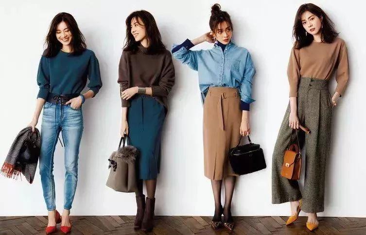 2018年日本杂志特辑:30岁成熟女性的时髦穿搭25选
