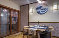 素色亚麻墙布,日式,草编窗帘,屏风隔断,木线条